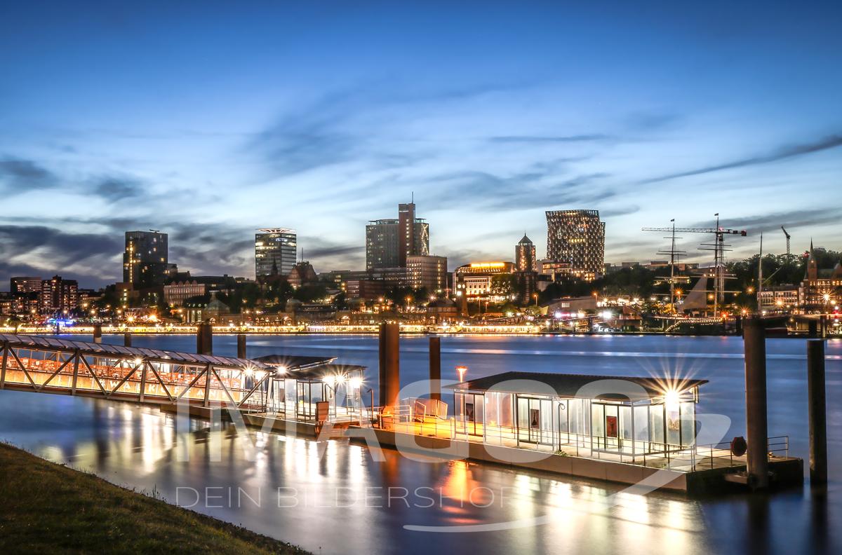 101078 – Hamburg Abendstimmung